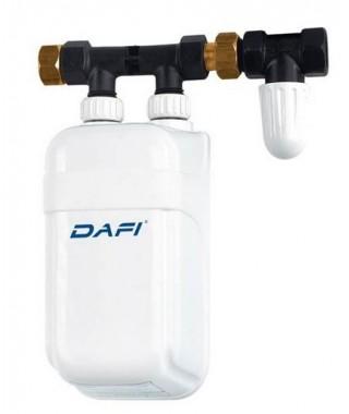 Elektryczny przepływowy podgrzewacz wody DAFI IPX4 4,5KW podumywalkowy