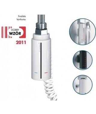 Grzałka elektryczna HOT² 40x93mm 600W INSTAL-PROJEKT biała 1/2