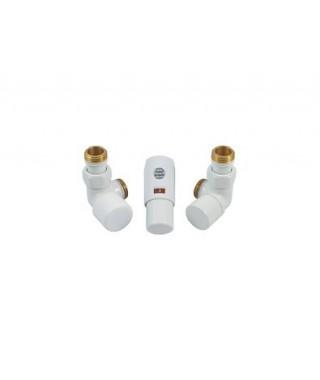 Zestaw łazienkowy osiowy mini Z10 INSTAL-PROJEKT do rur z tworzywa sztucznego (PEX), cappucino