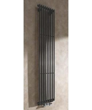 Grzejnik łazienkowy GORGIEL CEZAR I AD1 1800/384 730W grafit połysk