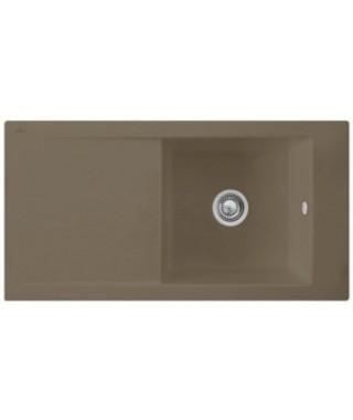 Zlewozmywak ceramiczny Timber VILLEROY & BOCH TIMELINE 60 100X51 679002TR (Timber)