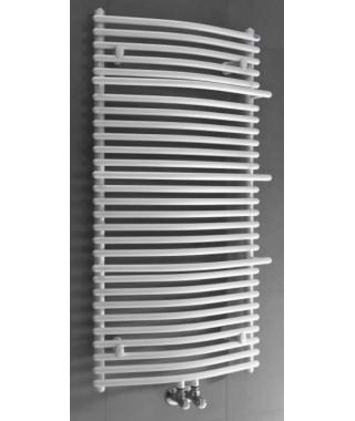 Grzejnik łazienkowy GORGIEL WENUS AWS/P 716/596 389W biały