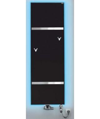 Grzejnik łazienkowy GORGIEL FORTIS V 1760/592 443W (LED kolor +VIP kolor osłony z kamienia ciemny)