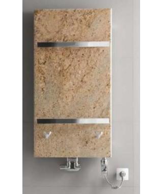 Grzejnik łazienkowy GORGIEL FORTIS B 975/535 (VIP kolor osłony z kamienia jasny brązowy)