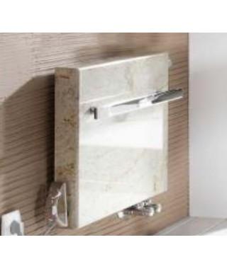 Grzejnik łazienkowy GORGIEL FORTIS H 600/1015 (kolor osłony z kamienia kremowy)