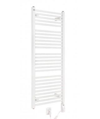 Grzejnik łazienkowy elektryczny GORGIEL TEMIDA 1180/500 600W biały