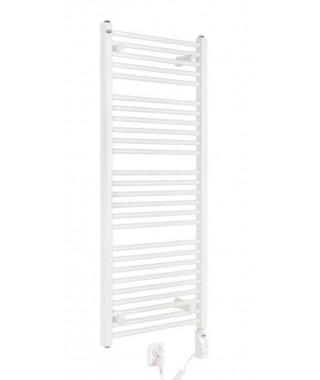 Grzejnik łazienkowy elektryczny GORGIEL TEMIDA 1340/500 600W biały