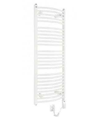 Grzejnik łazienkowy elektryczny GORGIEL HERKULES 1500/500 600W biały
