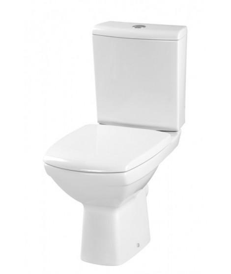 WC kompakt CERSANIT CARINA 3/6L poziomy + deska wolnoopadajaca K31-014