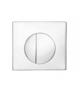 GORGIEL MEDIA biały przycisk spłukujący 2504012210