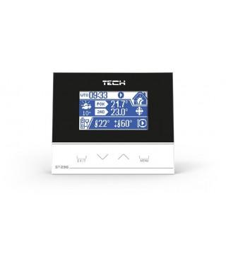 Regulator pokojowy ST-296 TECH z komunikacją RS W_296.01.PL01.1