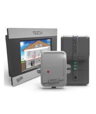 Regulator pokojowy ST-280 + ST-260 TECH z komunikacją RS W_280_260_PL01
