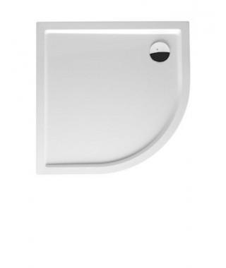 Brodzik półokrągły RIHO Davos 100x100x14 cm 285 biały