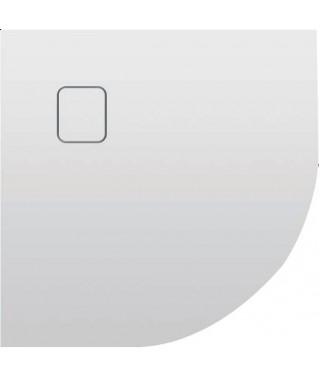Brodzik półokrągły RIHO Basel 90x90x4.5 cm 451 biały