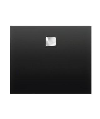 Brodzik kwadratowy RIHO Basel 100x100x4,5 cm 430 czarny połysk