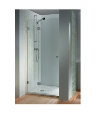 Drzwi prysznicowe 160 RIHO Scandic M102 lewe. szkło przezroczyste