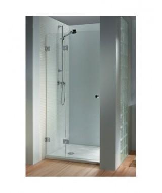 Drzwi prysznicowe 120 RIHO Scandic M104 lewe, szkło przezroczyste