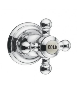 Zawór podtynkowy (COLD) retro chrom KLUDI ADLON