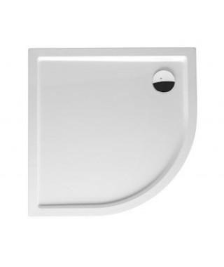 Brodzik półokrągły RIHO Zurich 100x100x4,5 cm 284 biały