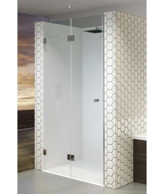 Drzwi prysznicowe 90 RIHO S105 Scandic szkło przezroczyste