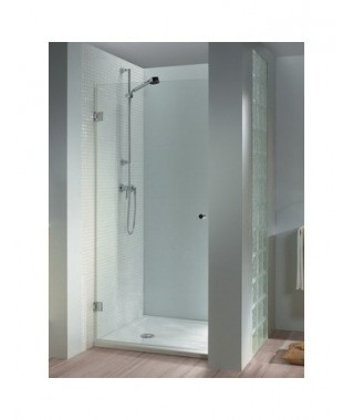 Drzwi prysznicowe 80 RIHO Scandic M101 lewe. szkło przezroczyste