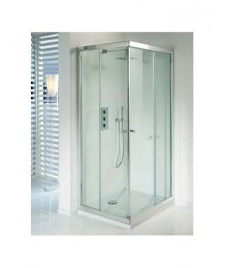 Drzwi prysznicowe 120 RIHO Lucena szkło przezroczyste