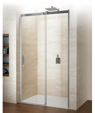 Drzwi prysznicowe 120 RIHO Ocean przesuwne do wnęki. szkło przezroczyste