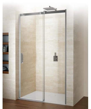 Drzwi prysznicowe 120 RIHO Ocean przesuwne do wnęki, szkło przezroczyste