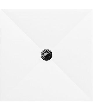 Brodzik kwadratowy 100x100x4 cm SCHEDPOL De Luxe