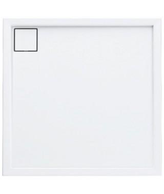 Brodzik kwadratowy 80x80x5/1.8 cm SCHEDPOL Omega