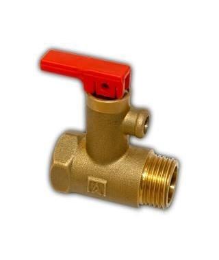 Zawór bezpieczeństwa do elektrycznych podgrzewaczy wody AF8, 6,7 bar AFRISO
