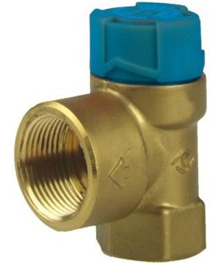 MSW Zawór bezpieczeństwa do zasobników ciepłej wody użytkowej 6 bar, Rp AFRISO