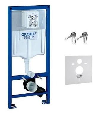 Stelaż podtynkowy 3w1 do WC z kątownikami i uszczelką GROHE Rapid SL