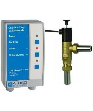 Elektroniczny czujnik niskiego poziomu wody WMS 3-1 bez blokady AFRISO