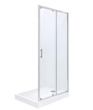 Drzwi prysznicowe dwuczęściowe 120cm ROCA TOWN