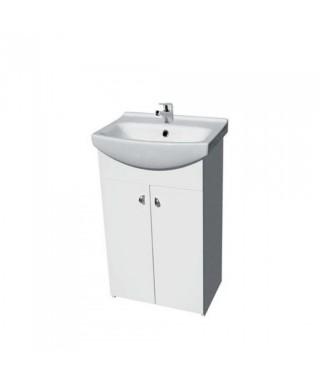Zestaw umywalkowy CERSANIT BIANCO 55 New