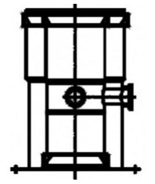 Adapter z odskraplaczem ADK 505/80 TERMET 80/125