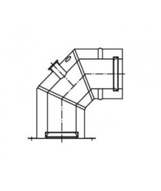 KOLANO KONCENTRYCZNE 80/125 KKR 425/80 TERMET (adapter)