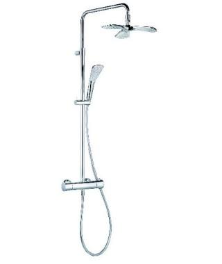 Zestaw prysznicowy z termostatem KLUDI DUAL SHOWER SYSTEM FIZZ