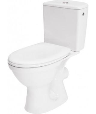 Zestaw WC kompakt CERSANIT MERIDA 3/6l + deska polipropylen wolnoopadająca