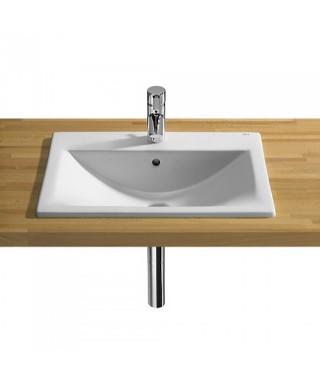 Umywalka ROCA DIVERTA 55 blatowa Maxi Clean
