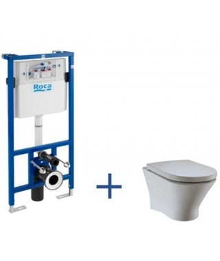 Zestaw DUPLO One+ miska WC podwieszana NEXO Rimless + Deska Slim A893104460
