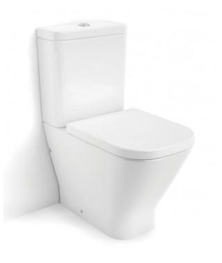 Miska WC do kompaktu o/uniwersalny ROCA GAP rimless z powłoką MaxiClean