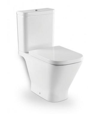 Miska WC do kompaktu o/poziomy ROCA GAP z powłoką MaxiClean