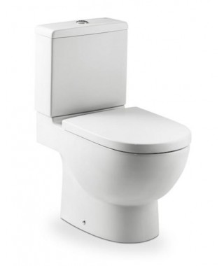 Miska wc ROCA MERIDIAN-N z powłoką MaxiClean