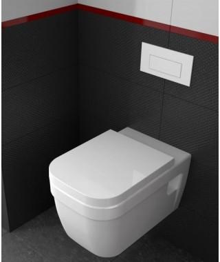 Miska WC wisząca NOURA CeraStyle biała