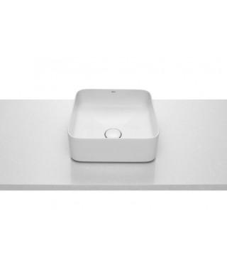 Roca Inspira umywalka nablatowa Square FINECERAMIC® 37cm A327532000