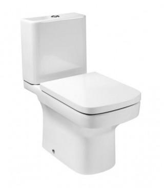 Miska WC kompaktowa ROCA DAMA-N o/poziomy z powłoką MaxiClean