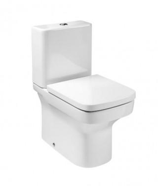 Miska WC kompaktowa ROCA DAMA-N Compacto z powłoką MaxiClean o/podwójny