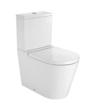 Miska WC o/podwójny do kompaktu Round ROCA INSPIRA